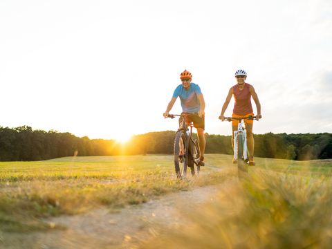 Radfahren in der Weinidylle