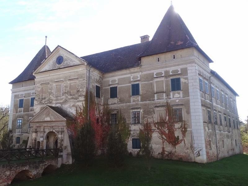 Das Wasserschloss in Eberau