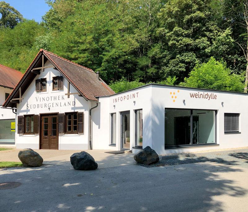 Die Gebietsvinothek Südburgenland in Moschendorf