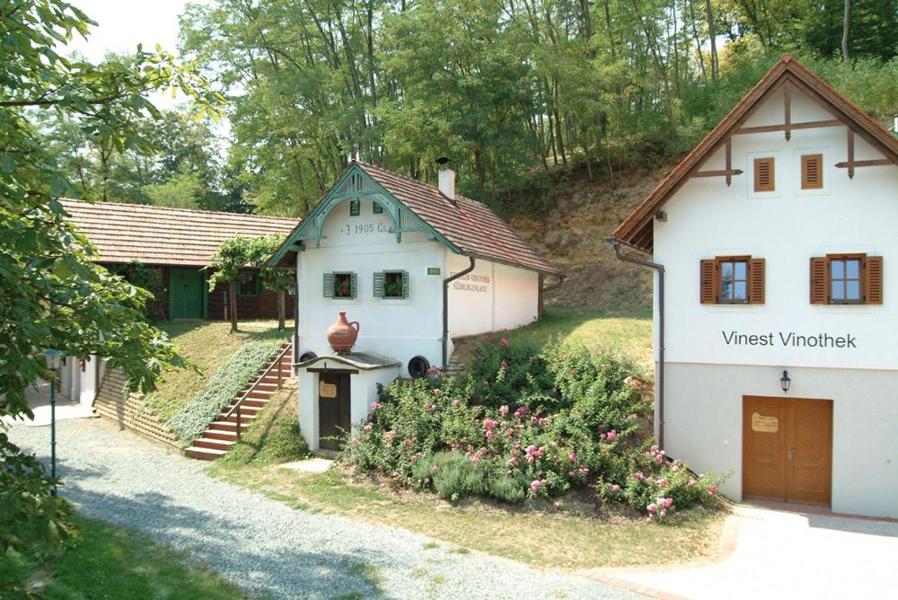 Weinmuseum in Moschendorf
